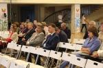 Выступление на республиканском образовательном салоне «УТРО»-5
